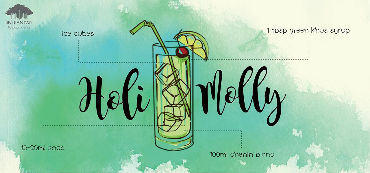 Enjoy our  Holi Cocktail