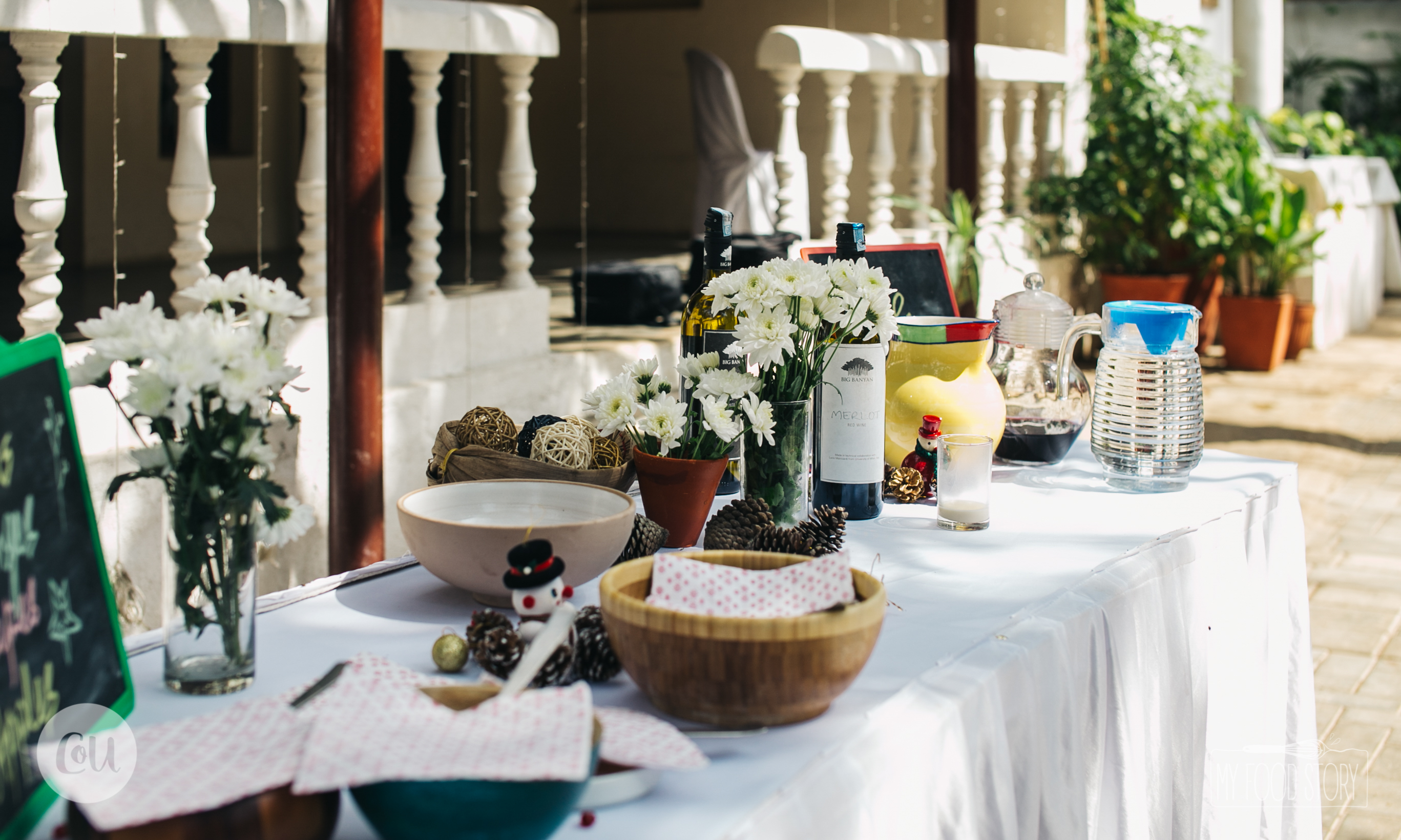 Santa's Secret Bruncheon that Couple of Us and My Food Story