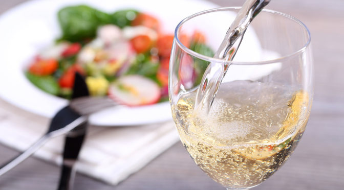 Serve up white wine for dinner tonight