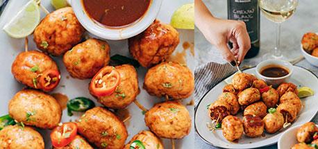 Easy Firecracker Chicken Meatballs